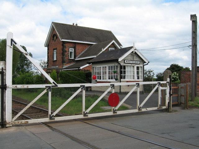 Marston Moor Level Crossing