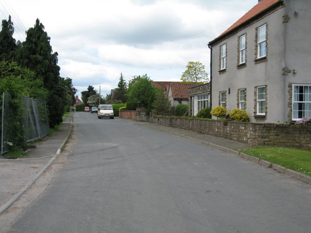 East End of Moor Monkton