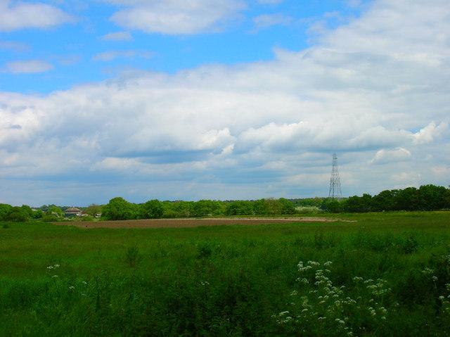 Communications Mast near Laughton