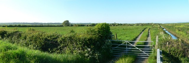 Malltraeth Marsh or Cors Ddyga near Morfa Brennin.