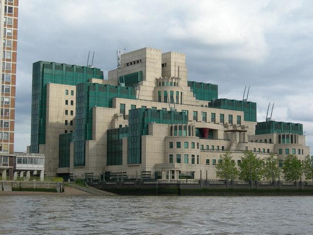 MI6 Building, Albert Embankment