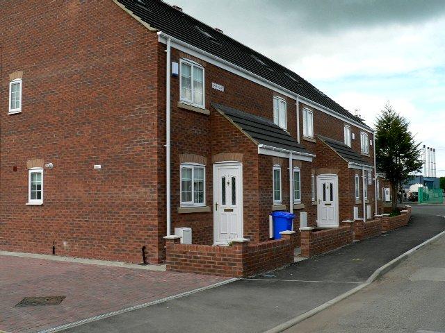 Houses on Station Lane