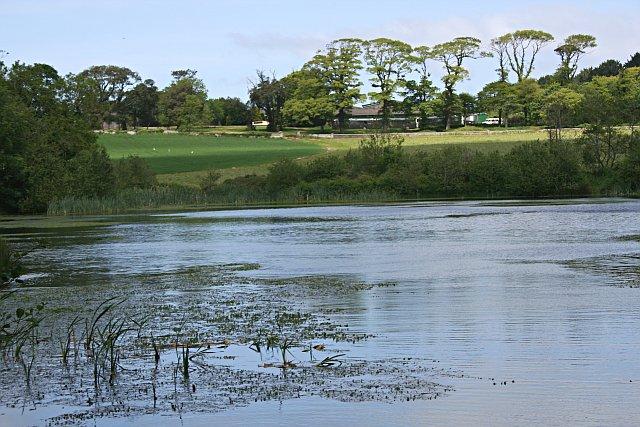 Pendarves Lake and Home Farm