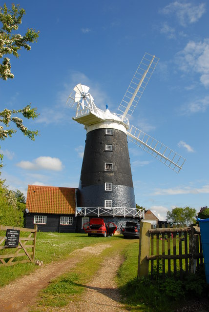 The Tower Windmill, Tower  Road, Burnham Overy Staithe
