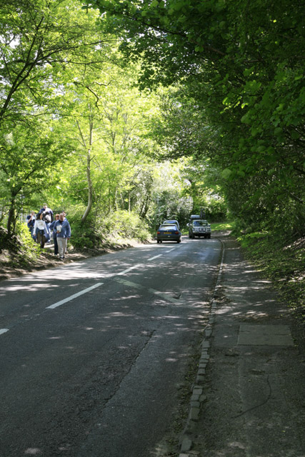 Approaching Burley from Burley Street
