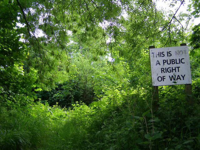 Large informative sign, Clearbury Ring