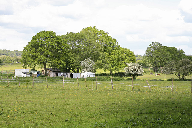 Equestrian smallholding, off Ringwood Road, Burley