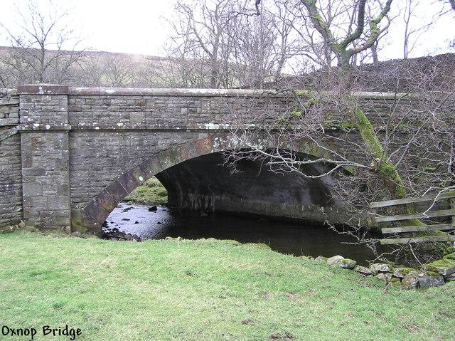 Oxnop Bridge.