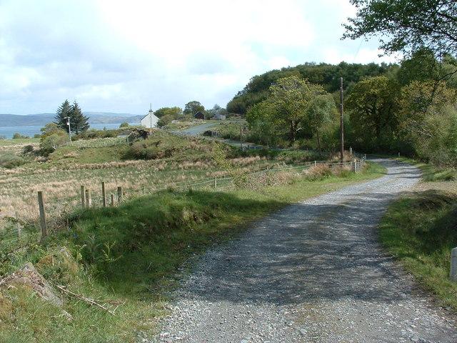 Track to Gorsten Farm
