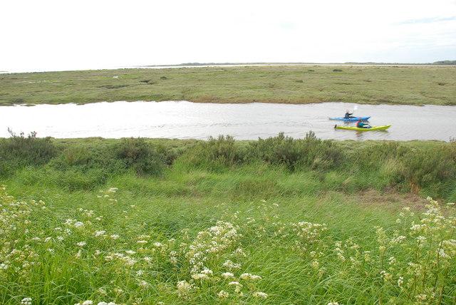 Saltings and creeks, near Burnham Deepdale