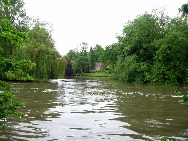River Thames upstream of Goring