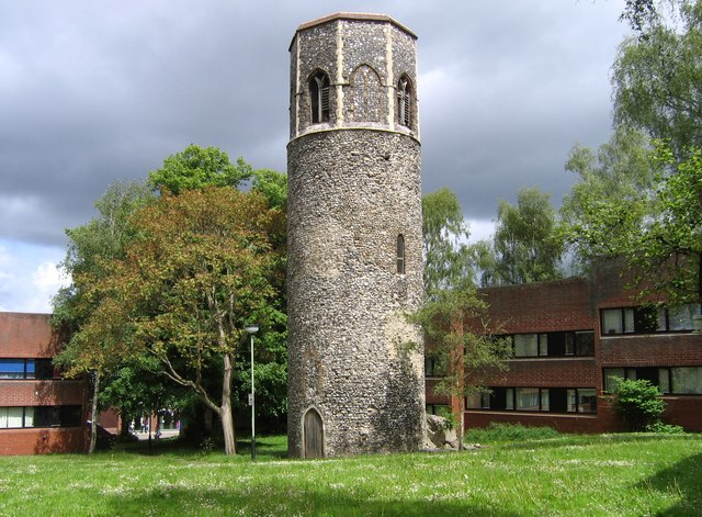 St. Benedict's Church Tower, Norwich