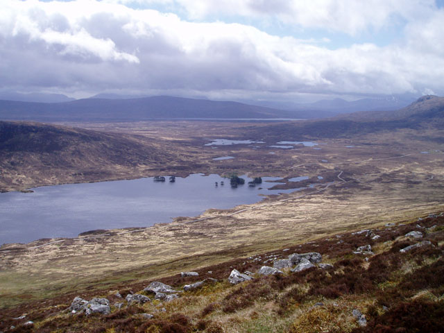 Slopes of Beinn na Lap