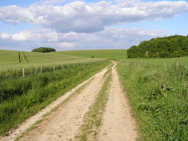 Byway north of New Court Down