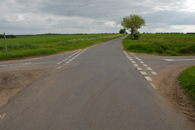 Crossroads south of Brancaster
