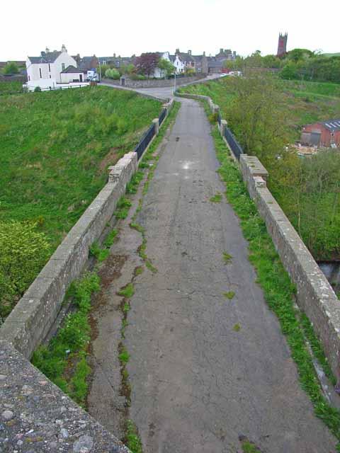 The old Bervie Bridge at Inverbervie