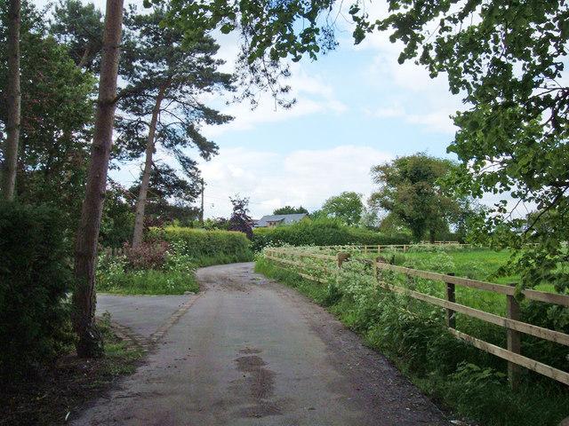 Bridleway near Knutsford