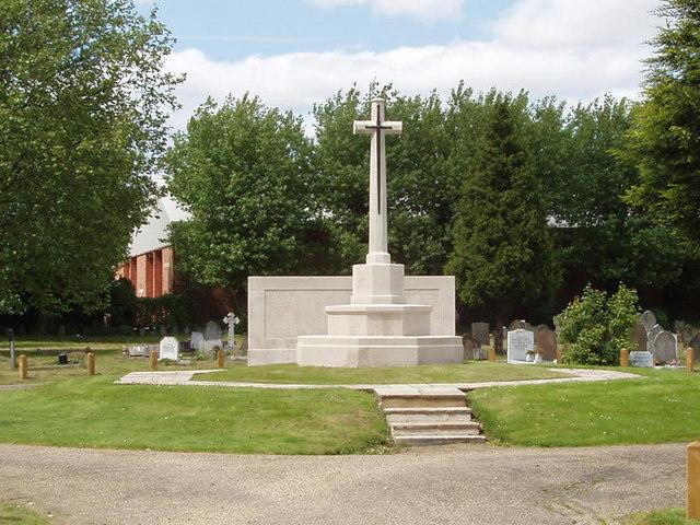 War memorial, Acton Cemetery