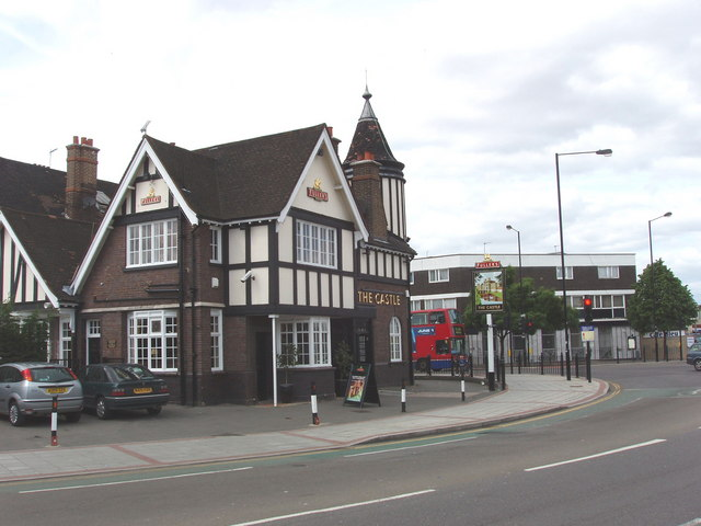 The Castle public house, North Acton