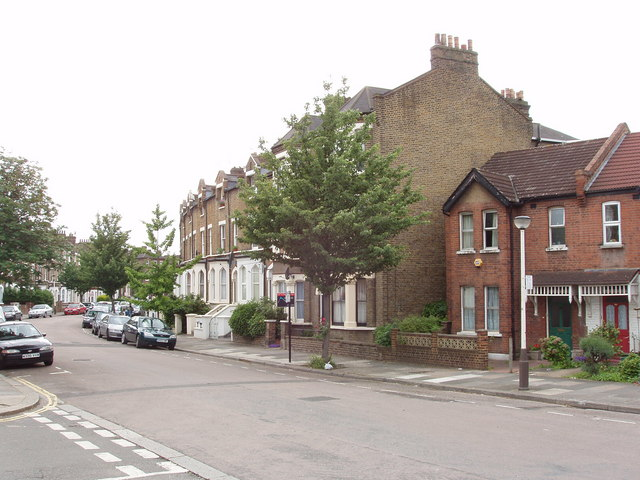 View along York Road, North Acton
