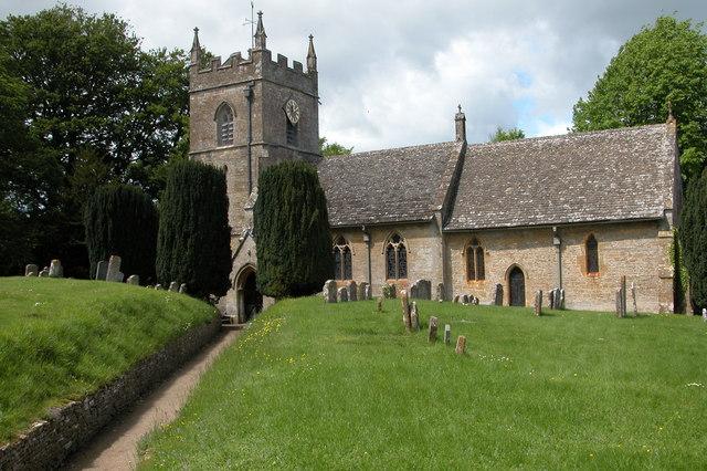 St Peter's Church, Upper Slaughter