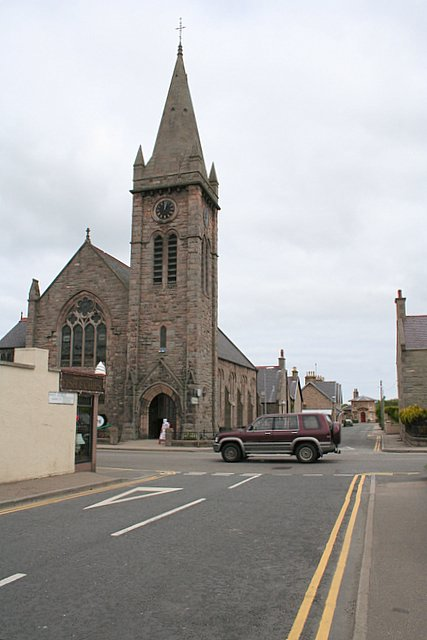 The former Pringle Church in Fochabers now houses the Fochabers Museum.