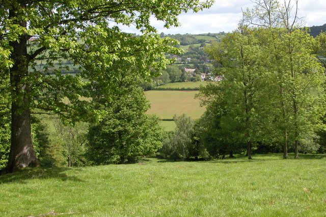 Dorstone viewed from Mill Wood