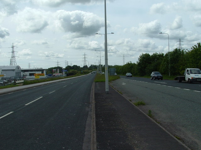 A583 looking west