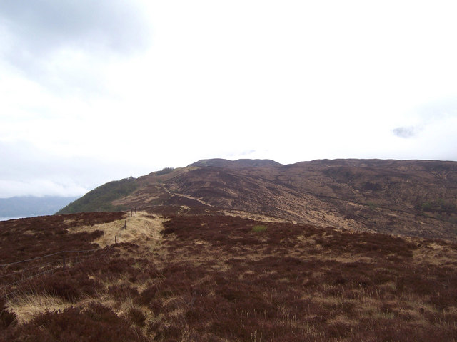 On the south-west ridge of Ardsheal Hill
