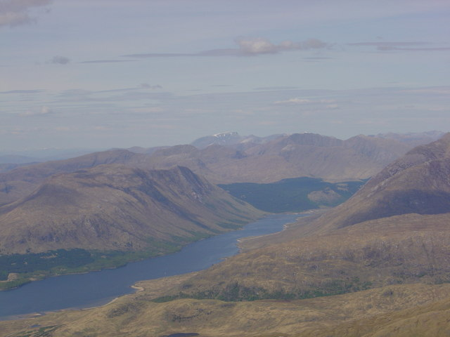 Loch Etive viewed from Ben Cruachan