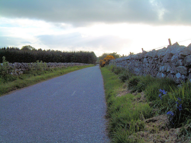 Road from Auchlee