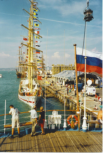 Tall Ships Race at Portsmouth.