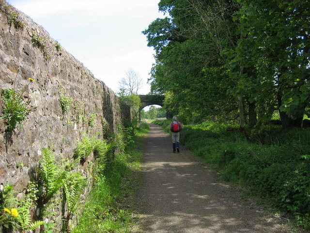 Railway Farm Bridge near Broomhouse