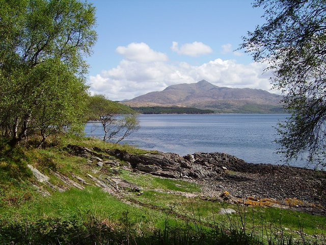 Loch Sunart and Ben Resipol