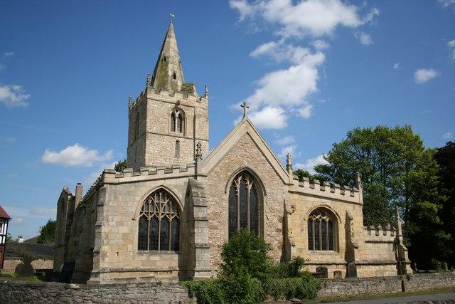 All saints' church, Arksey