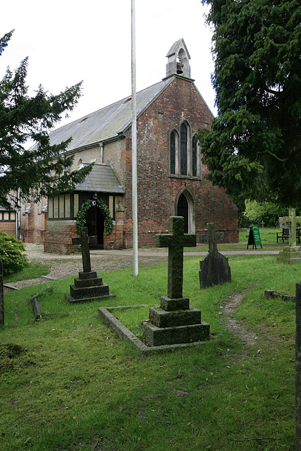 Church of St John the Baptist, Church Lane, Burley