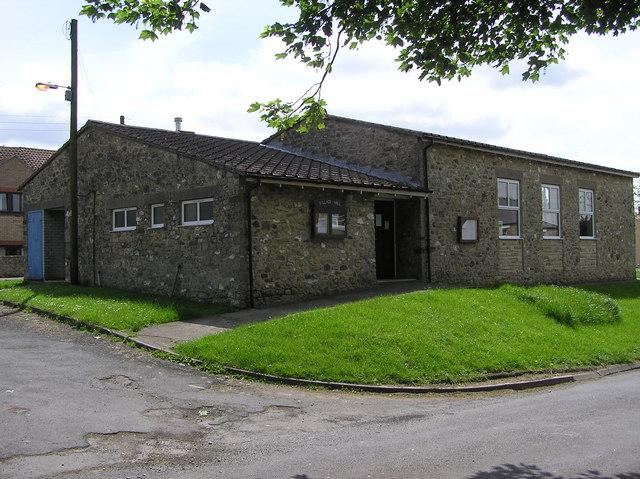Brafferton Village Hall  :  Built 1971.