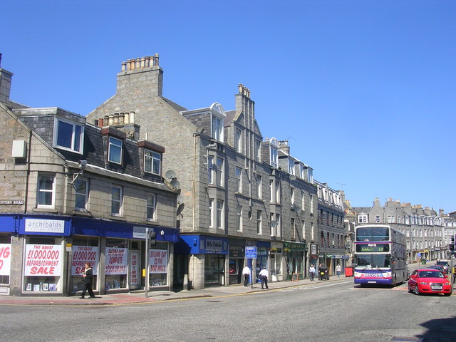 Holburn Street at Great Western Road