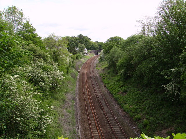 Rail Track Cark in Cartmel