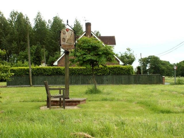 Twinstead village sign, Essex