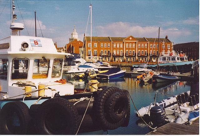 Portsmouth Harbourside Redevelopment.