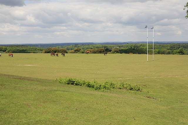 Rugby Football field at Picket Post
