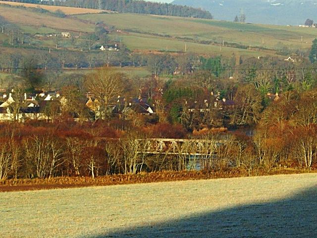 Railway bridge at Beauly