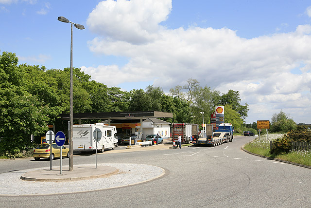 Shell Service Station, Picket Post