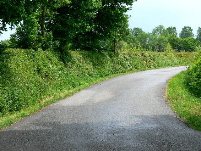 Road to Seaton Old Hall and St Helen�s Farms