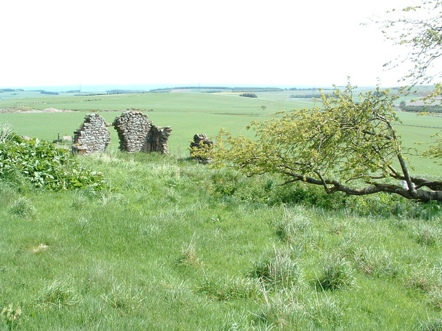 Ruin and spring