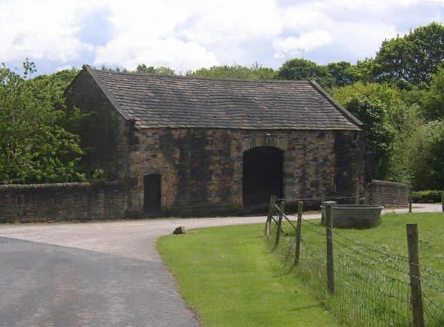 18C barn, Kirklees Home Farm, Clifton