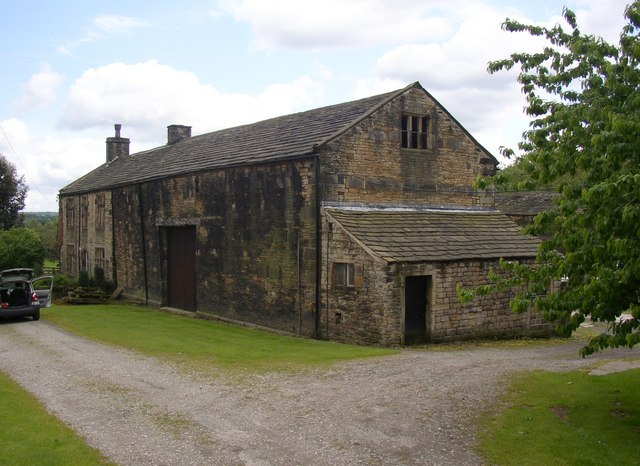 Farmhouse with attached barn, Kirklees Home Farm, Clifton
