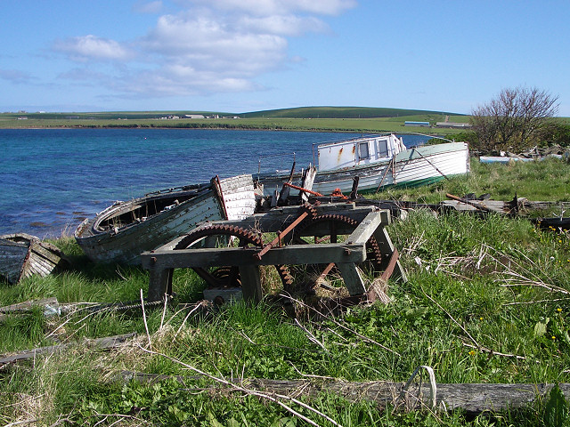 Old boats at Herston