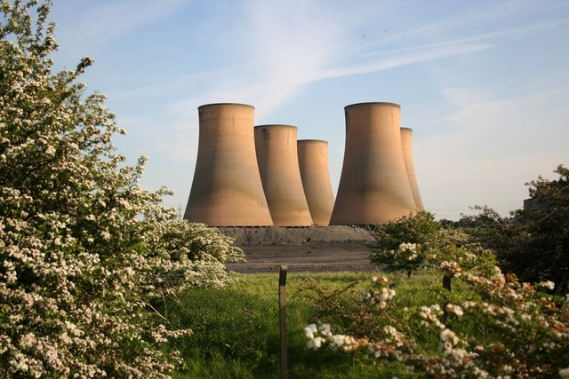 High Marnham Cooling Towers